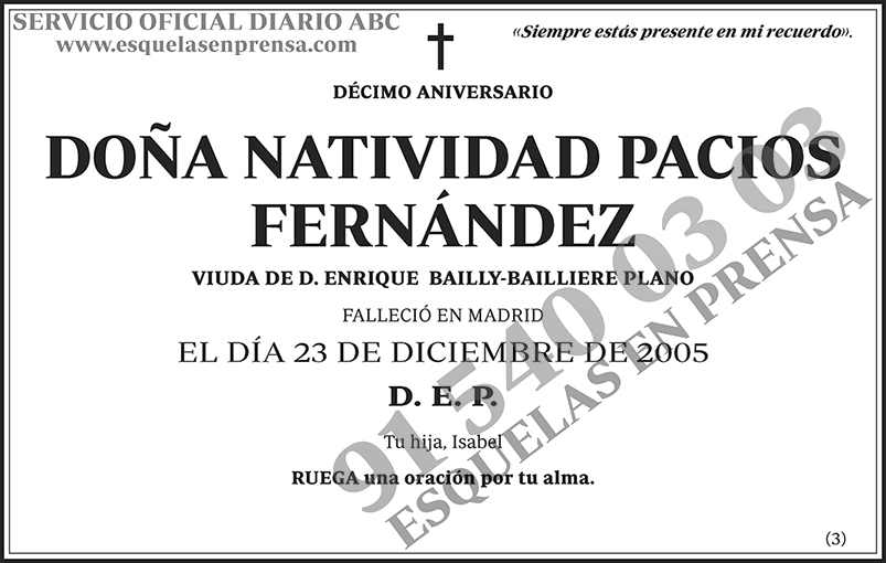 Natividad Pacios Fernández